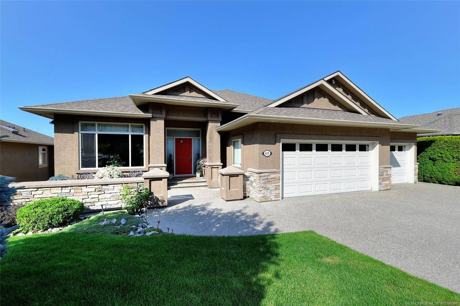 House for sale at 655 Denali Ct Kelowna British Columbia - MLS: 10190246