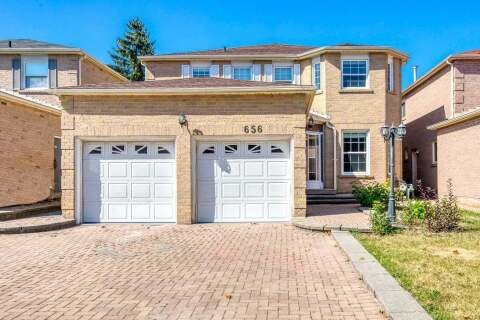 House for sale at 656 Esprit Cres Mississauga Ontario - MLS: W4928434