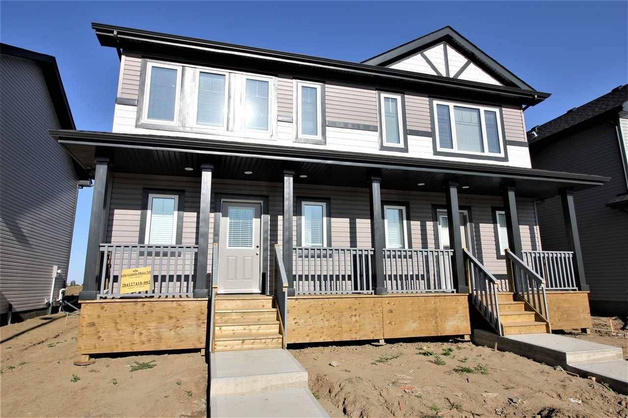 Townhouse for sale at 656 Lewis Greens Dr Nw Edmonton Alberta - MLS: E4171005