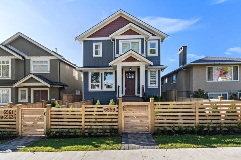 Townhouse for sale at 6561 Inverness St Vancouver British Columbia - MLS: R2512563