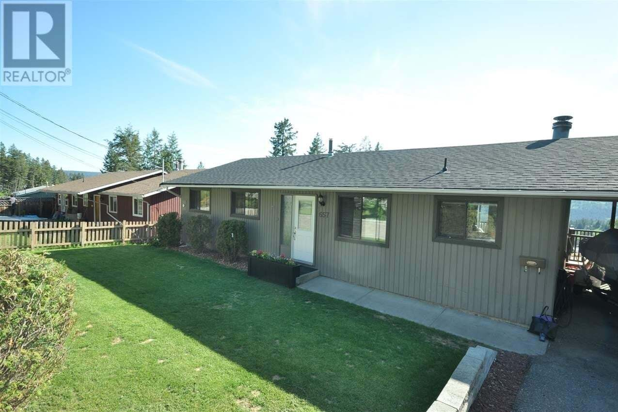 House for sale at 657 Centennial Dr Williams Lake British Columbia - MLS: R2460007