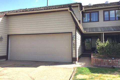 Townhouse for sale at 657 Woodbridge Wy Sherwood Park Alberta - MLS: E4146930