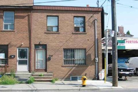 Townhouse for sale at 658 Dundas St Toronto Ontario - MLS: C4663990
