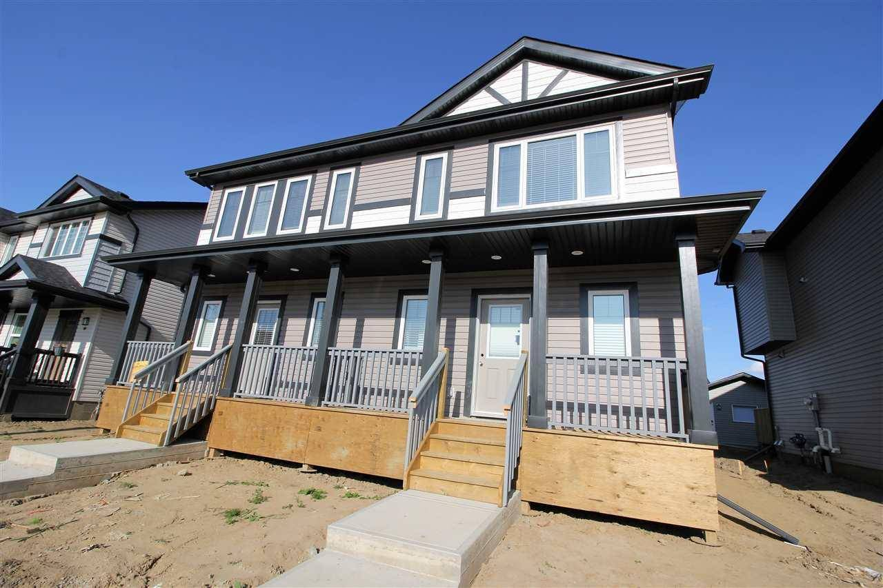 Townhouse for sale at 658 Lewis Greens Dr Nw Edmonton Alberta - MLS: E4171006