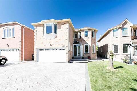 House for sale at 659 Ceremonial Dr Mississauga Ontario - MLS: W4796242