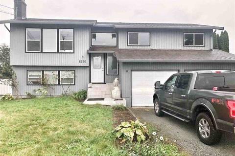 House for sale at 6596 Evans Rd Sardis British Columbia - MLS: R2417774