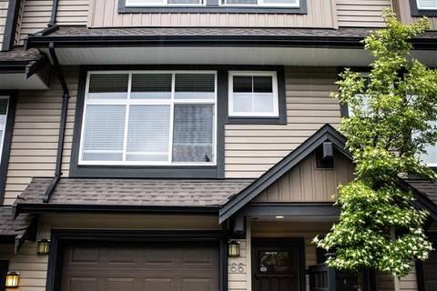 Townhouse for sale at 13819 232 St Unit 66 Maple Ridge British Columbia - MLS: R2369351