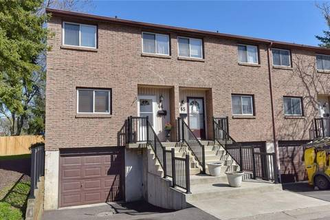Townhouse for sale at 250 Magnolia Dr Unit 66 Hamilton Ontario - MLS: H4052458