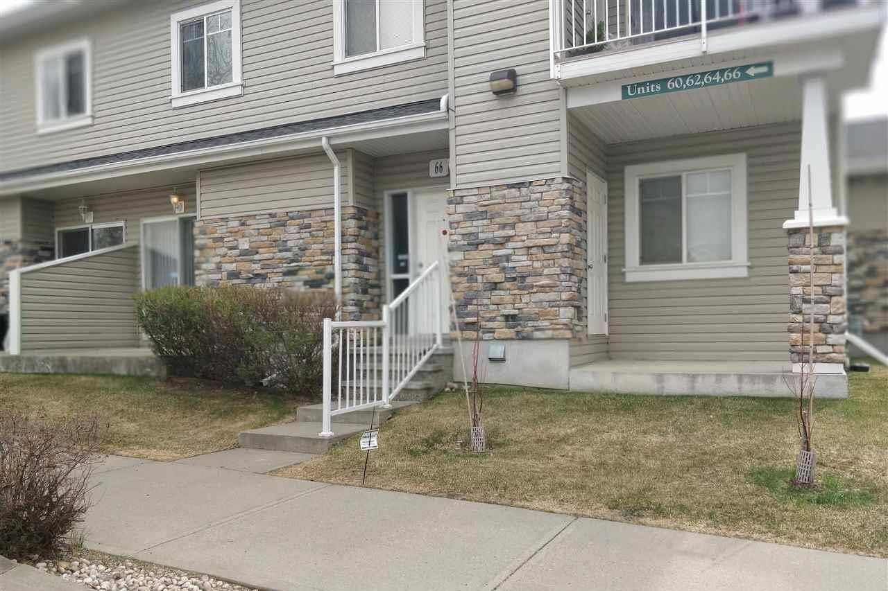 Townhouse for sale at 2508 Hanna Cr NW Unit 66 Edmonton Alberta - MLS: E4220609