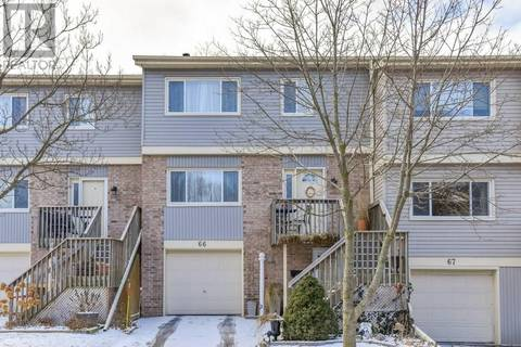 Townhouse for sale at 30 Green Valley Dr Unit 66 Kitchener Ontario - MLS: 30730056