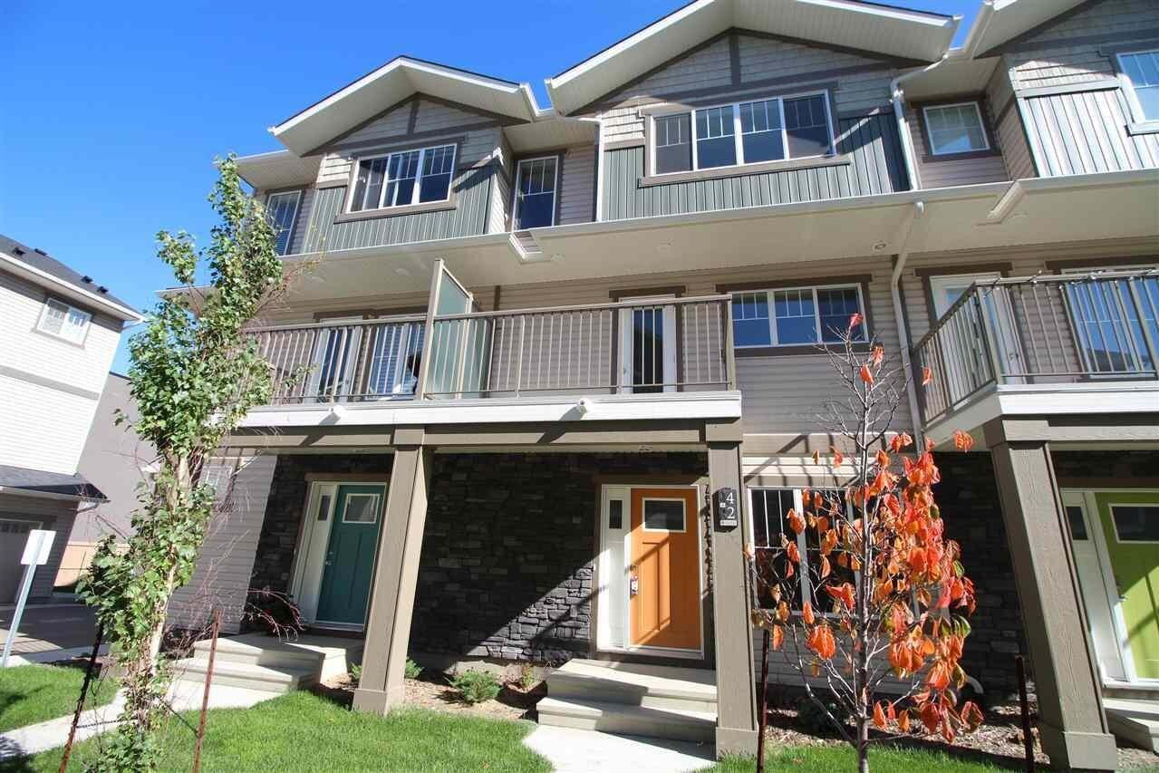 Townhouse for sale at 50 Mclaughlin Dr Unit 66 Spruce Grove Alberta - MLS: E4192355