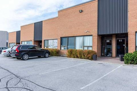 Commercial property for lease at 50 Pippin Rd Apartment 66 Vaughan Ontario - MLS: N4651319