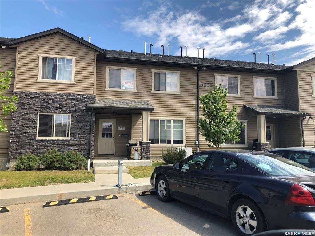 Townhouse for sale at 5035 James Hill Rd Unit 66 Regina Saskatchewan - MLS: SK774320