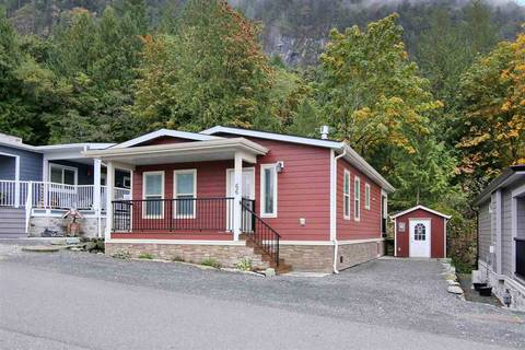House for sale at 53480 Bridal Falls Rd Unit 66 Rosedale British Columbia - MLS: R2428678
