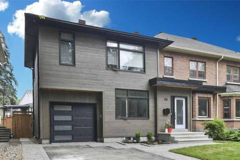 House for sale at 66 Glencairn Ave Ottawa Ontario - MLS: 1157676