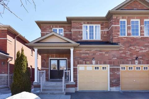 Townhouse for sale at 66 Hawkes Dr Richmond Hill Ontario - MLS: N4475204