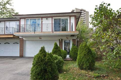 Townhouse for rent at 66 Heatherside Dr Toronto Ontario - MLS: E4624073