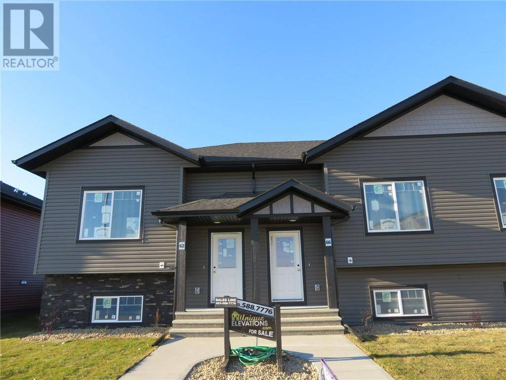 Townhouse for sale at 66 Mackenzie Ranch Wy Lacombe Alberta - MLS: ca0182593