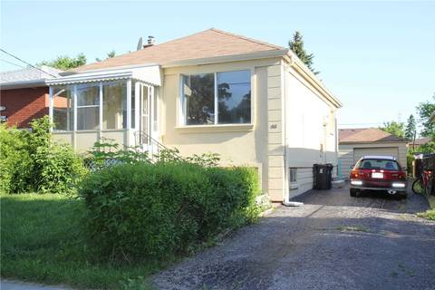 House for rent at 66 Otonabee Ave Toronto Ontario - MLS: C4540908