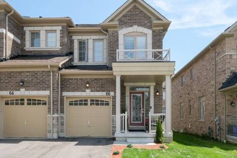 Townhouse for sale at 66 Rimrock Cres Whitby Ontario - MLS: E4485769