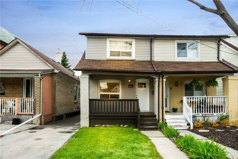 Townhouse for rent at 66 Rosethorn Ave Toronto Ontario - MLS: W4453423