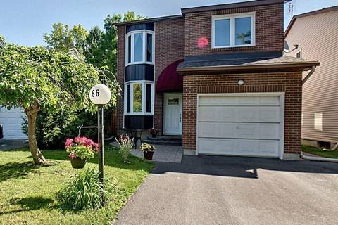 House for sale at 66 Shadetree Cres Nepean Ontario - MLS: 1158079