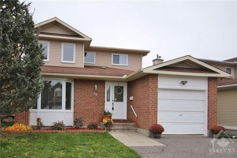 House for sale at 66 Stradwick Ave Nepean Ontario - MLS: 1216268