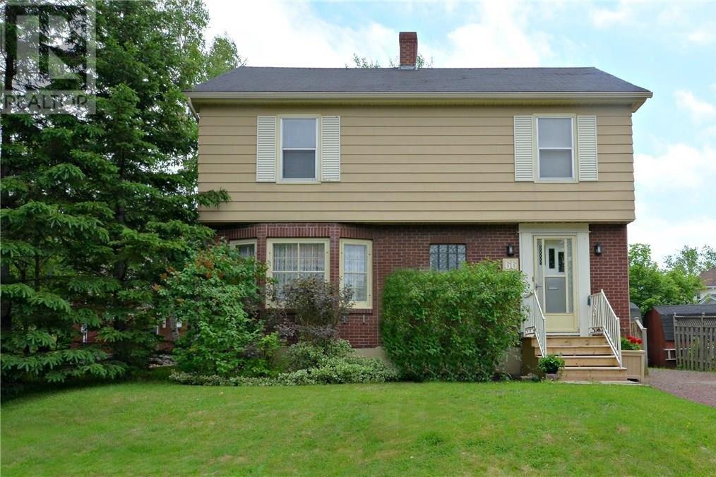 House for sale at 66 Wellington  Moncton New Brunswick - MLS: M131582