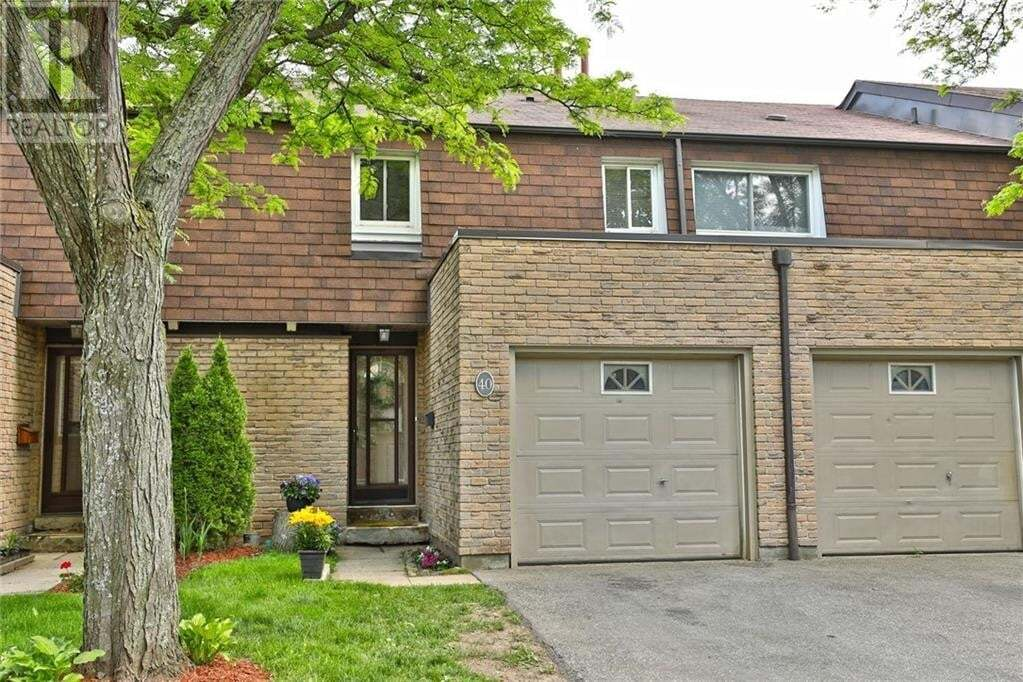 Townhouse for sale at 660 Oxford Rd Burlington Ontario - MLS: 30811502