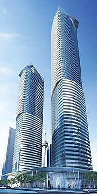 For Rent: 6602 - 14 York Street, Toronto, ON   1 Bed, 1 Bath Condo for $2600.00. See 13 photos!