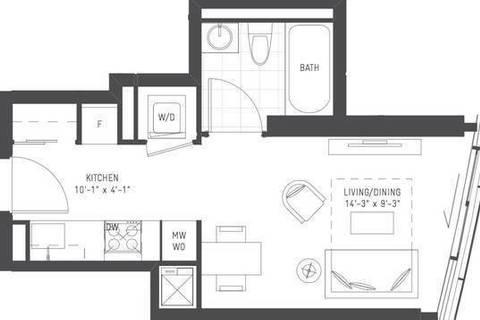 Apartment for rent at 14 York St Unit 6602 Toronto Ontario - MLS: C4668806