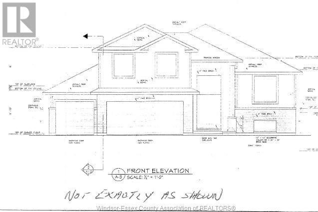 House for sale at 6605 Tecumseh Rd Lakeshore Ontario - MLS: 20016343