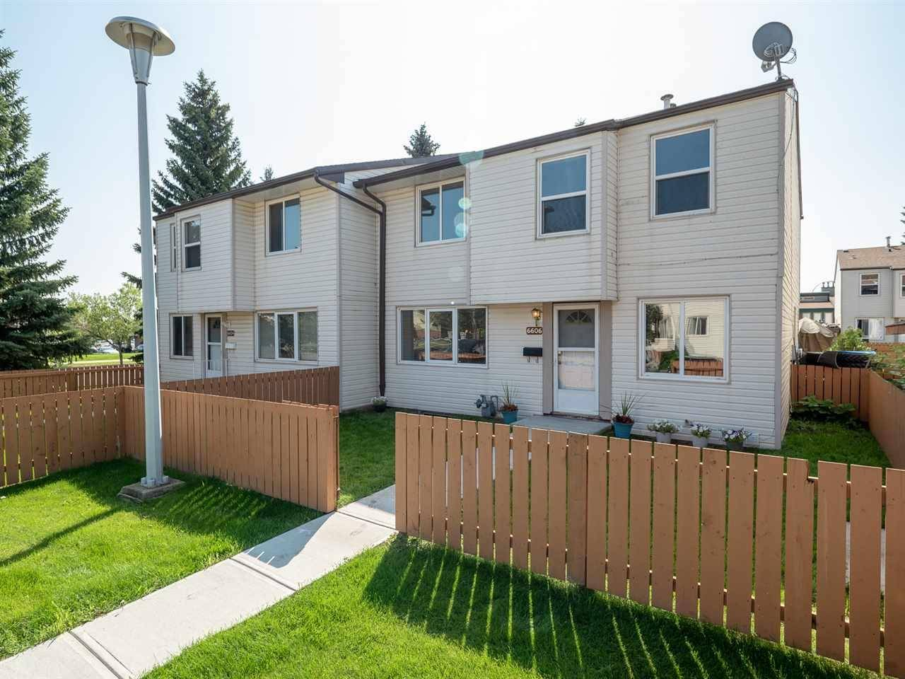 Townhouse for sale at 6606 178 St Nw Edmonton Alberta - MLS: E4169994