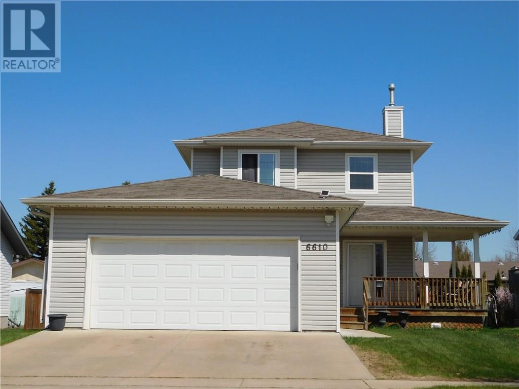 For Sale: 6610 - 33 Avenue , Camrose, AB | 4 Bed, 4 Bath House for $354,900. See 21 photos!