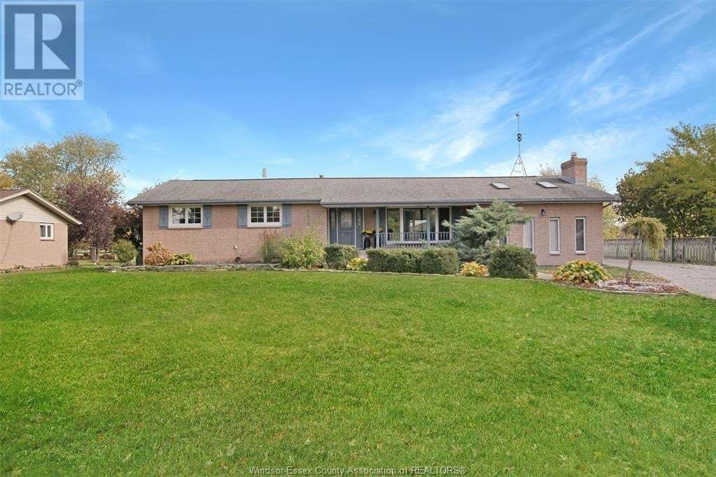 House for sale at 6615 Concession 6  North Amherstburg Ontario - MLS: 20014233