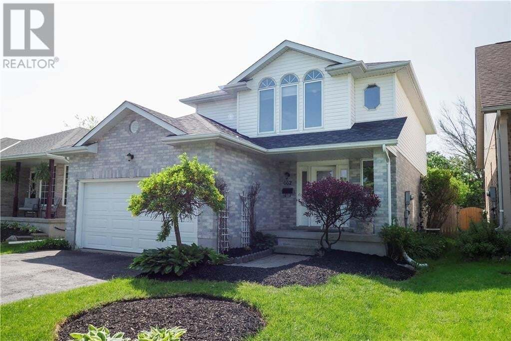 House for sale at 662 Coldstream Dr Waterloo Ontario - MLS: 30809705