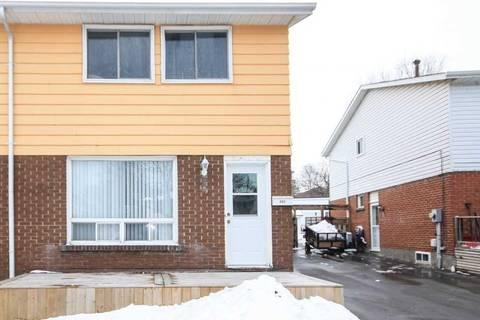 Townhouse for sale at 666 Bon Echo Dr Oshawa Ontario - MLS: E4676951