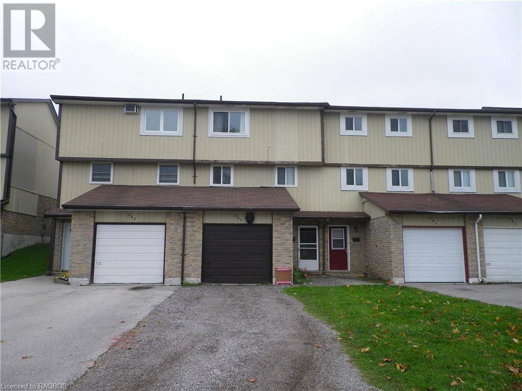 Townhouse for sale at 666 Hunter St Kincardine Ontario - MLS: 230600