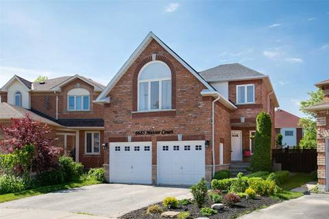 House for sale at 6685 Meteor Ct Mississauga Ontario - MLS: W4490991