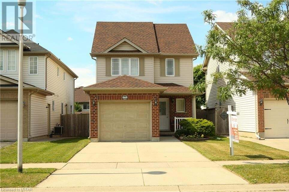 House for sale at 669 Fieldgate Circ London Ontario - MLS: 269114