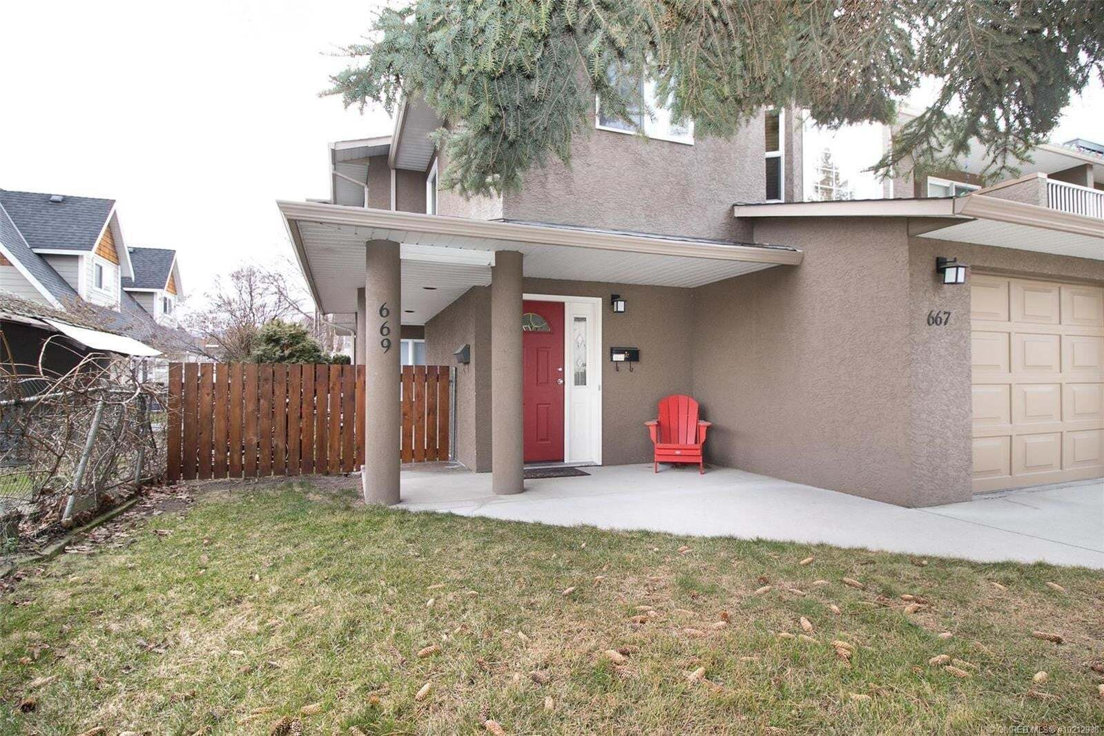 Townhouse for sale at 669 Patterson Ave Kelowna British Columbia - MLS: 10212938