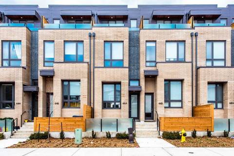 Townhouse for rent at 66 Perth Ave Toronto Ontario - MLS: C4691289