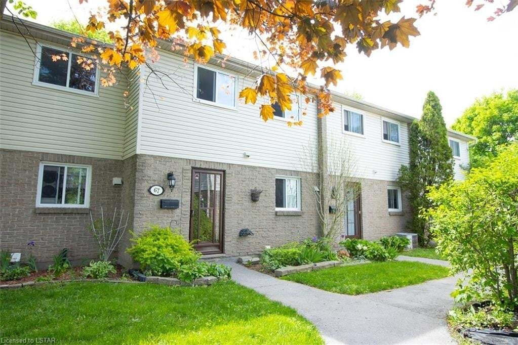 Townhouse for sale at 166 Southdale Rd W Unit 67 London Ontario - MLS: 262385