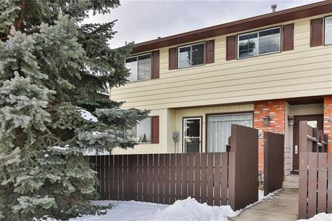 Townhouse for sale at 175 Manora Pl Northeast Unit 67 Calgary Alberta - MLS: C4285733
