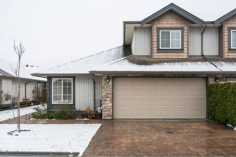 Townhouse for sale at 44523 Mclaren Dr Unit 67 Sardis British Columbia - MLS: R2434378