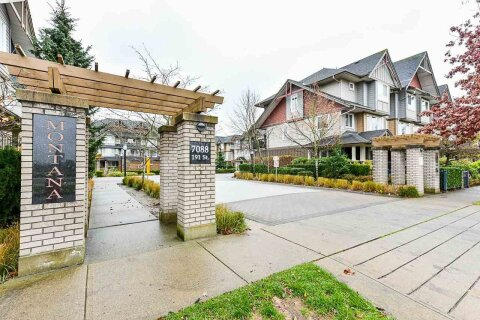 Townhouse for sale at 7088 191 St Unit 67 Surrey British Columbia - MLS: R2518206