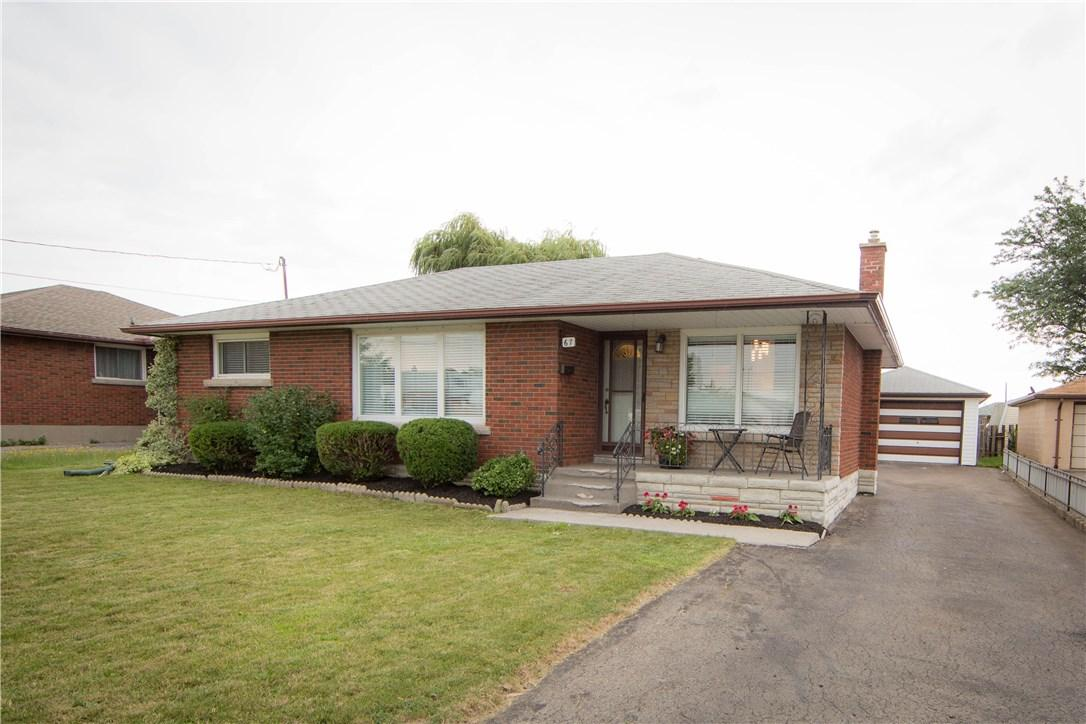 Removed: 67 Afton Avenue, Welland, ON - Removed on 2017-09-13 22:01:34