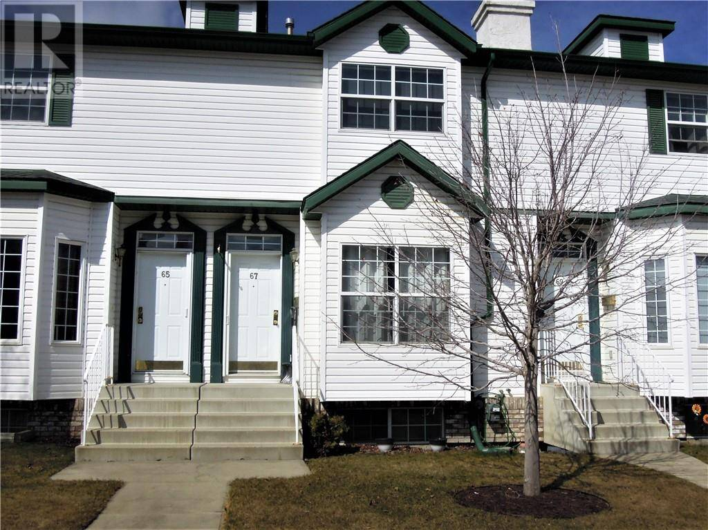 Townhouse for sale at 67 Amer Cs Red Deer Alberta - MLS: ca0166308
