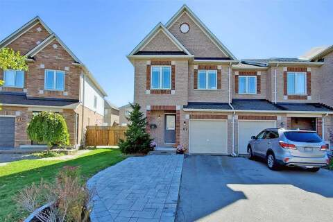 Townhouse for sale at 67 Bilbrough St Aurora Ontario - MLS: N4952363