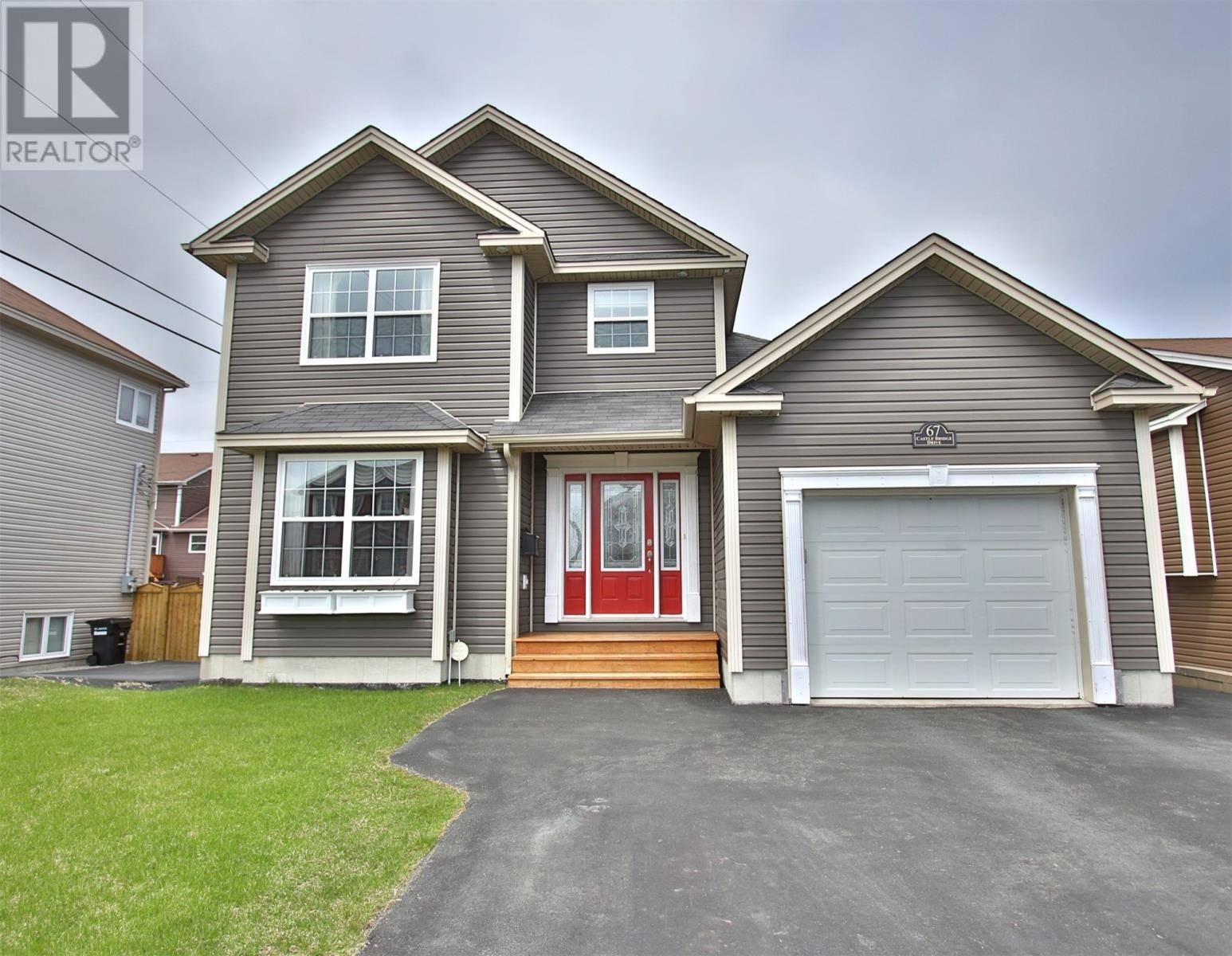 House for sale at 67 Castle Bridge Dr St. John's Newfoundland - MLS: 1209323